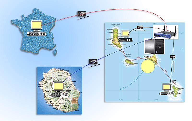 Santé pour Tous Anjouan - map